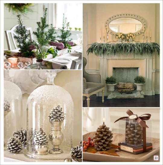 Deco de table noel - Comment faire tenir un sapin sans pied ...