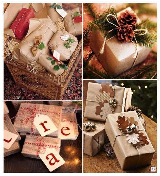 emballage_cadeau_noel_papier_kraft_sapin_feuille_arbre_papier_journal