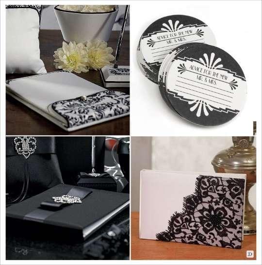Decorations Table Noir Et Dor Ef Bf Bd