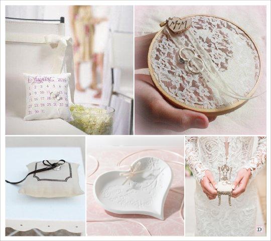 mariage baroque coussin alliances personnalise calendrier cercle broder coeur ceramique