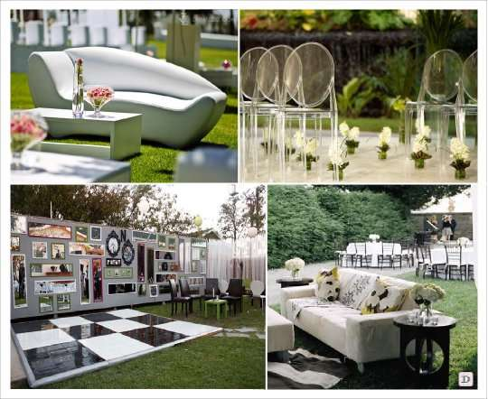 Tendance outdoor decoration mariage en ext rieur for Design exterieur