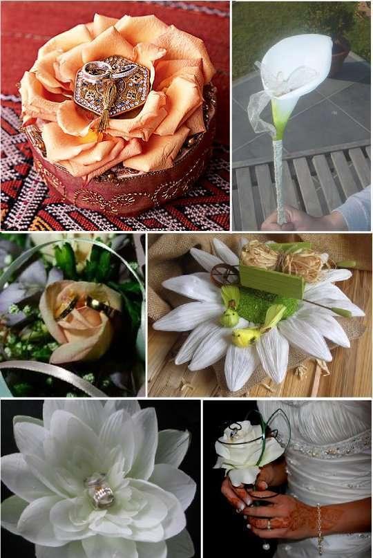 porte alliances vegetal composition florale