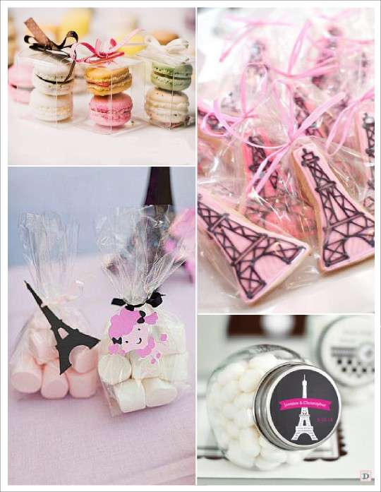 mariage paris_macarons_chamallows, mini_bocal_bonbons_biscuit_tour_eiffel