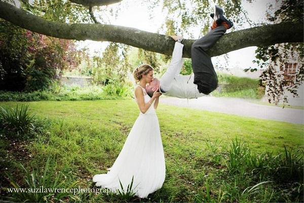 photo mariage baiser spiderman insolite