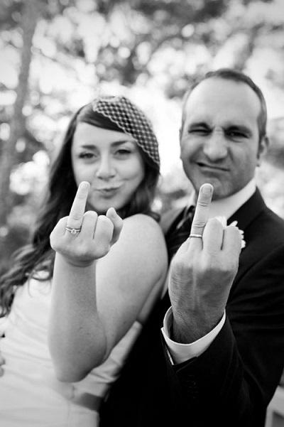 photo humoristique mariage bague au doigt