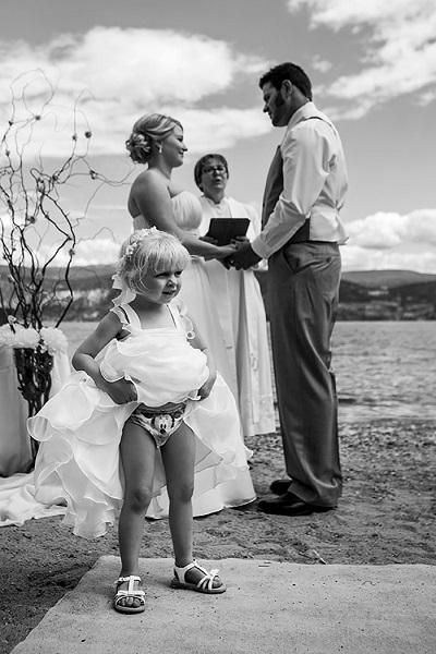 cliche mariage comique enfant