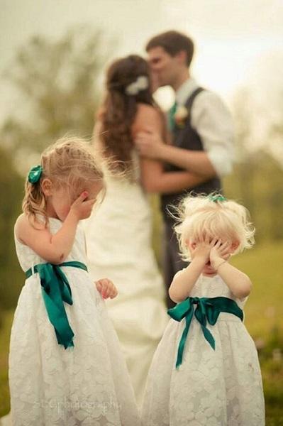 photo mariage humoristique enfant