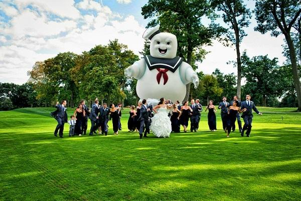 course panique photo mariage humoristique