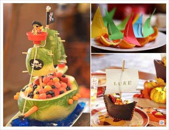 anniversaire_pirate_candy_bar fruit orange pasteque