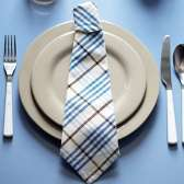 pliage serviette cravate