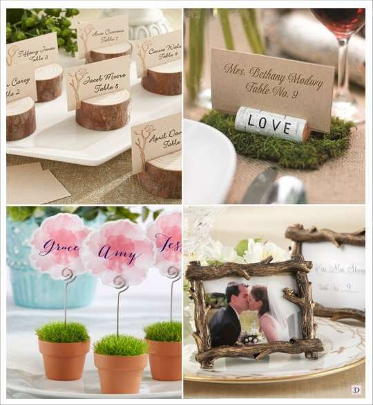 decoration mariage marque table
