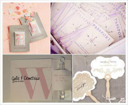 idees livret messe programme mariage sachet confettis passeport tubes bulles - Exemple Livret De Messe Mariage