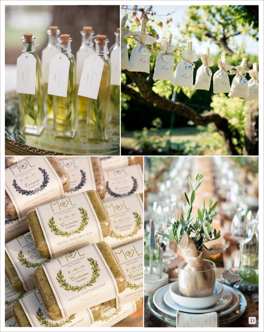 Mariage provence plein d 39 id es d co - Decoration dragee mariage ...