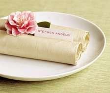 decoration mariage thème asie zen pliage serviette rouleau