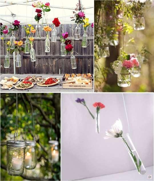 Idees decoration salle mariage for Verre de decoration