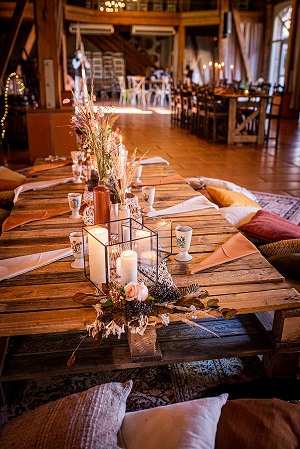 decoration table ambiance automne