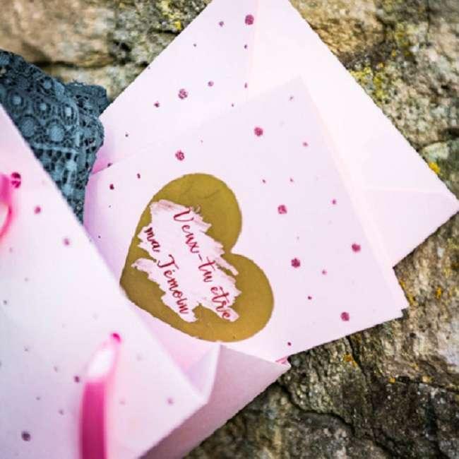 demande temoin mariage carte a gratter