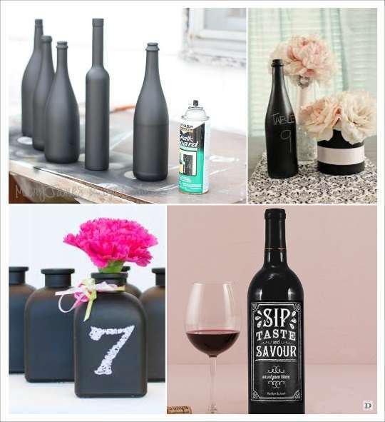 decoration mariage ardoise id es deco. Black Bedroom Furniture Sets. Home Design Ideas