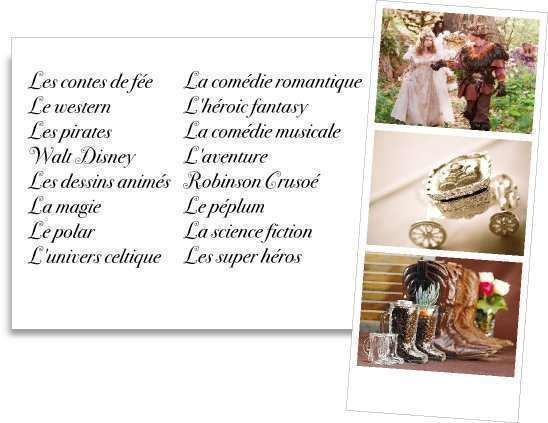 Theme mariage faites le plein d 39 id es - Idee menu pour soiree beaujolais ...