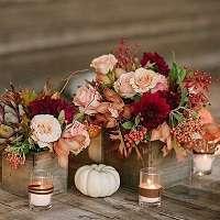 theme mariage automne