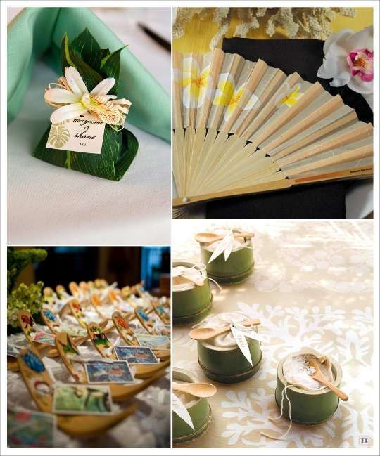 Decoration mariage tropical - Decoration dragee mariage ...