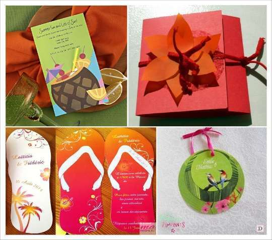 Orange Wedding Invitation is good invitation sample