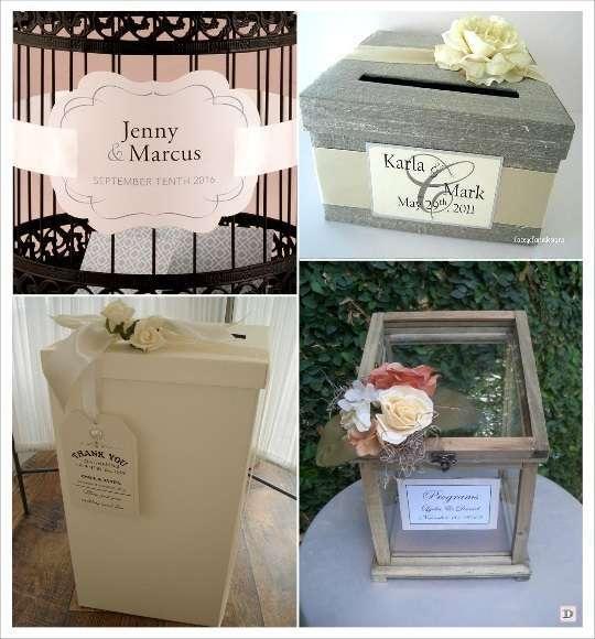 urne mariage personnalisée étiquette carton médaillon
