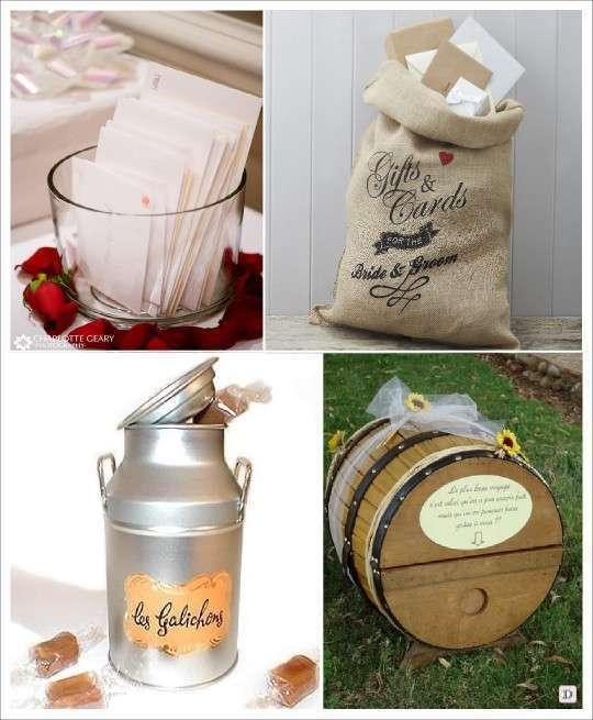 Idees urne mariage - Petit sac en papier pour mariage ...