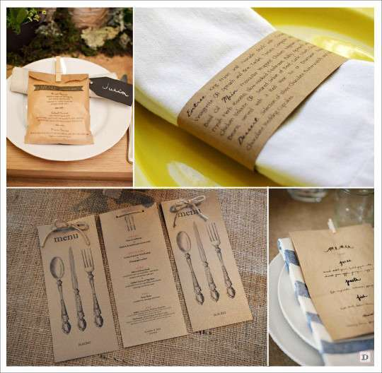Super Decoration Mariage Vintage Retro CK01