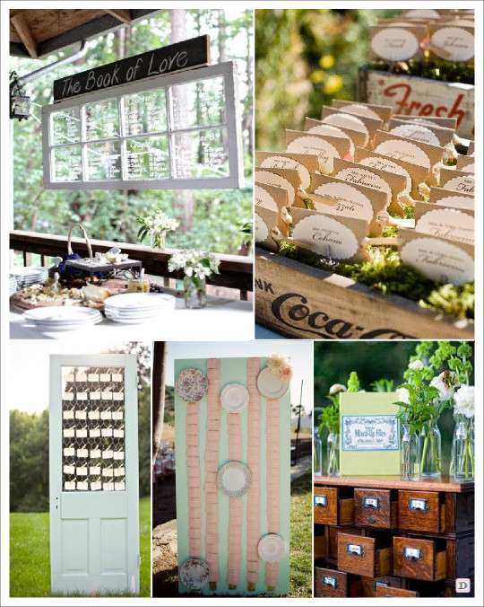 Decoration mariage vintage retro for Decoration fenetre en bois