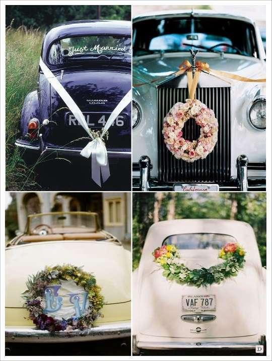 Idee decoration voiture mariage d couvrir - Dessiner un ruban ...