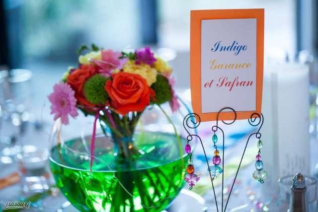 nom de table mariage couleur