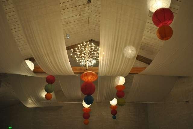 decoration plafond lampion