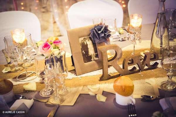 decoration de table mariage vintage retro