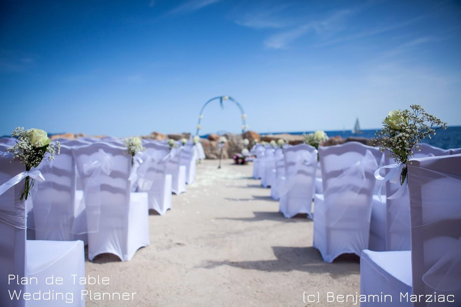 decoration mariage mer lieu ceremonie