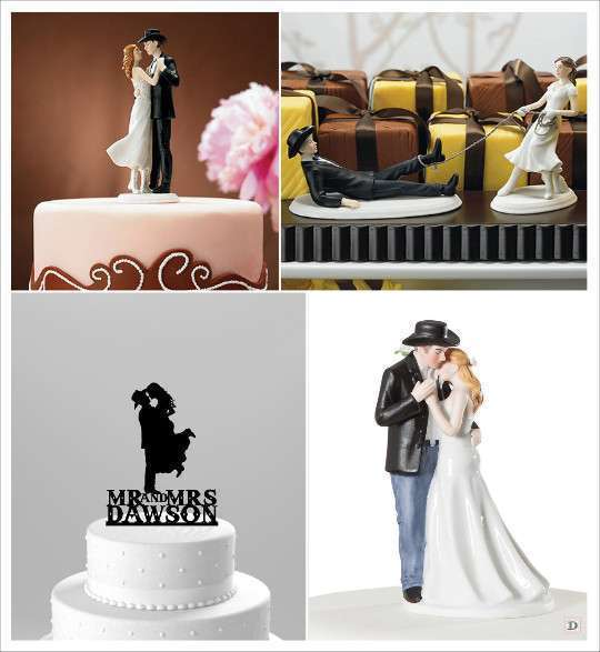 decoration_mariage_western-country-chic-equitation-figurine_gateau ...