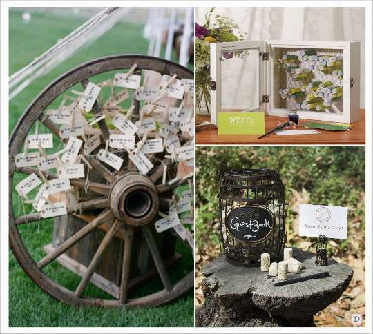 decoration_mariage_western-country-chic-equitation-livre_dor_roue ...