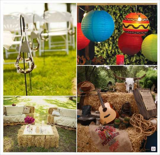 decoration_mariage_western_country_equitation_decoration_salle_lampion ...