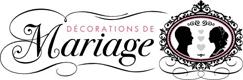 Logo Décorations de mariage
